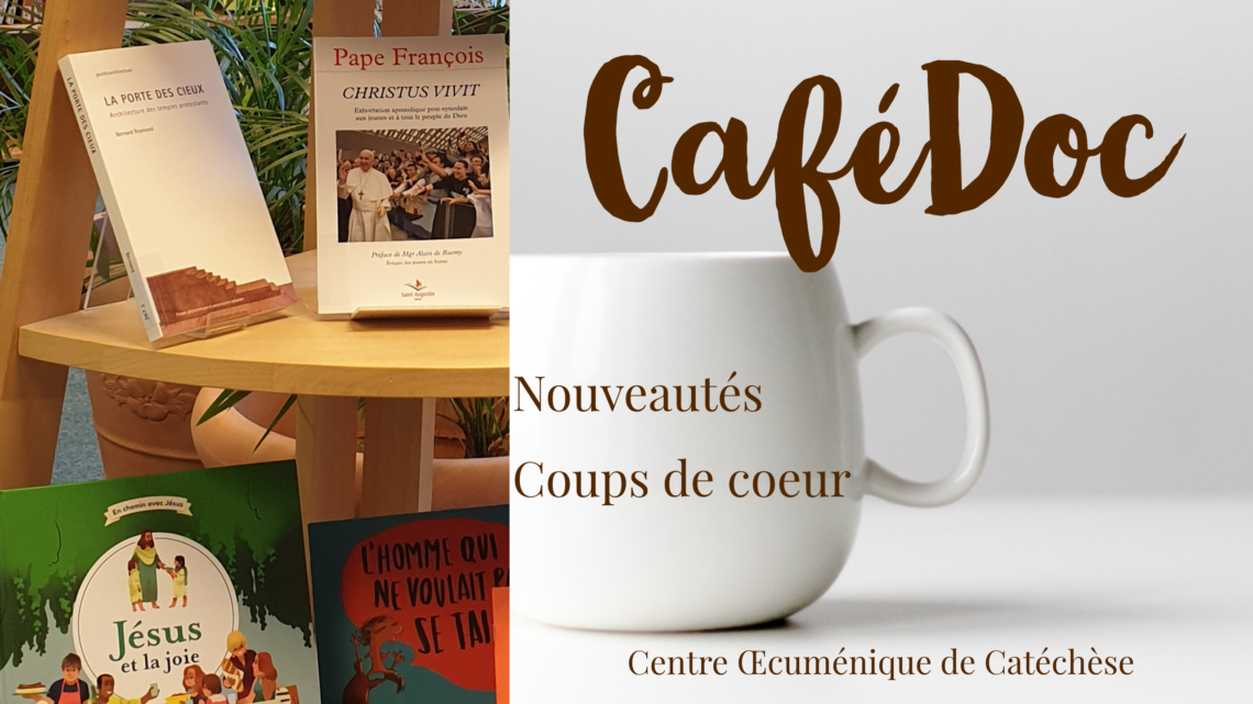 CaféDoc                              mardi 28 janvier à 10h00                     Venez découvrir les nouveautés autour d'un café-croissant !